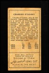 1911 T205  Charley O'Leary  Back Thumbnail