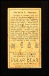 1911 T205  Gabby Street  Back Thumbnail