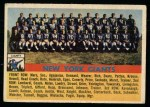 1956 Topps #113   Giants Team Front Thumbnail
