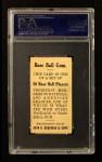 1909 E92 Dockman  Bill Donovan  Back Thumbnail
