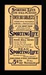 1910 M116 Sporting Life  James Scott  Back Thumbnail