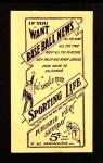1910 M116 Sporting Life  Birdie Cree  Back Thumbnail