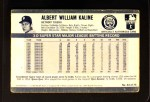 1971 Kellogg's #44  Al Kaline  Back Thumbnail