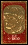 1965 Topps Embossed #69  Bob Gibson  Front Thumbnail