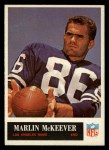 1965 Philadelphia #91  Marlin McKeever   Front Thumbnail