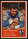 1963 Fleer #67  Gerry McDougall  Front Thumbnail