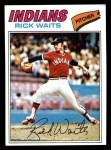 1977 Topps #306  Rick Waits  Front Thumbnail