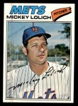 1977 Topps #565  Mickey Lolich  Front Thumbnail