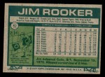 1977 Topps #82  Jim Rooker  Back Thumbnail
