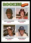 1977 Topps #476   -  Dale Murphy / Gary Alexander / Rick Cerone / Kevin Pasley Rookie Catchers Front Thumbnail