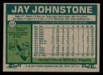 1977 Topps #415  Jay Johnstone  Back Thumbnail