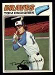 1977 Topps #48  Tom Paciorek  Front Thumbnail
