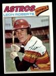 1977 Topps #456  Leon Roberts  Front Thumbnail