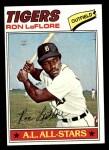 1977 Topps #240  Ron LeFlore  Front Thumbnail