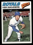 1977 Topps #171  Ken Sanders  Front Thumbnail