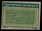 1977 Topps #632   -  Bob Forsch / Ken Forsch Big League Brothers Back Thumbnail
