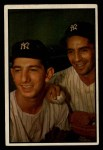 1953 Bowman #93  Phil Rizzuto / Billy Martin  Front Thumbnail