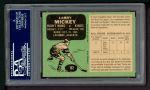 1970 O-Pee-Chee #162  Larry Mickey  Back Thumbnail
