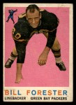 1959 Topps #39  Bill Forester  Front Thumbnail