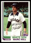 1982 Topps #748  Marc Hill  Front Thumbnail