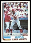 1982 Topps #723  Junior Kennedy  Front Thumbnail