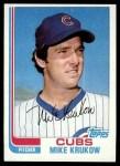 1982 Topps #215  Mike Krukow  Front Thumbnail