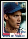 1982 Topps #655  Joel Youngblood  Front Thumbnail