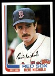 1982 Topps #124  Reid Nichols  Front Thumbnail