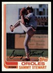 1982 Topps #679  Sammy Stewart  Front Thumbnail