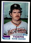 1982 Topps #238  Kevin Saucier  Front Thumbnail