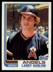 1982 Topps #257  Larry Harlow  Front Thumbnail