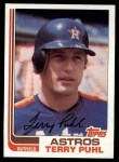 1982 Topps #277  Terry Puhl  Front Thumbnail