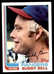 1982 Topps #50  Buddy Bell  Front Thumbnail