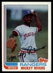 1982 Topps #704  Mickey Rivers  Front Thumbnail