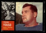 1962 Topps #96  Frank Youso  Front Thumbnail