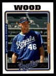2005 Topps #521  Mike Wood  Front Thumbnail