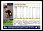 2005 Topps #224  Scott Sullivan  Back Thumbnail