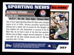 2005 Topps #357   -  Alfonso Soriano All-Star Back Thumbnail