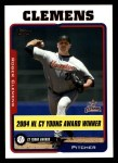 2005 Topps #714  Roger Clemens  Front Thumbnail