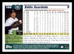 2005 Topps #198  Eddie Guardado  Back Thumbnail
