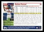 2005 Topps #247  Rafael Furcal  Back Thumbnail