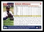 2005 Topps #177  Antonio Alfonseca  Back Thumbnail