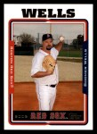 2005 Topps #484  Boomer Wells  Front Thumbnail