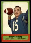 1963 Topps #25  Milt Plum  Front Thumbnail