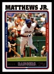 2005 Topps #429  Gary Matthews Jr.  Front Thumbnail