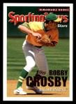 2005 Topps #367   -  Bobby Crosby All-Star Front Thumbnail