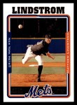 2005 Topps #309  Matthew Lindstrom  Front Thumbnail