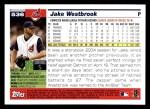2005 Topps #536  Jake Westbrook  Back Thumbnail