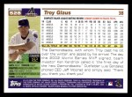 2005 Topps #528  Troy Glaus  Back Thumbnail