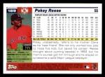 2005 Topps #189  Pokey Reese  Back Thumbnail
